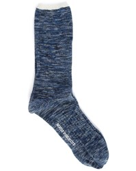 Norse Projects Blue Bjarki Blend Socks