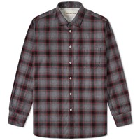 Universal Works Lumber Check Shirt Grey