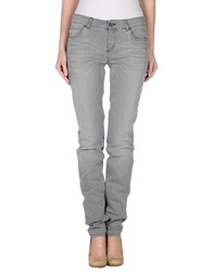 Galliano Denim Pants Grey