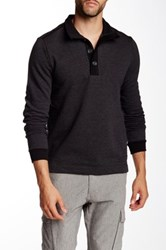 Hugo Boss Piceno Stand Up Collar Pullover Black