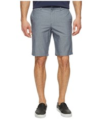 Original Penguin 10 Oxford Shorts With Gingham Tape Dark Sapphire Men's Shorts Blue