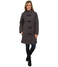 Merrell Haven Warmth Plus 2.0 Coat Shadow Heather Women's Coat Black