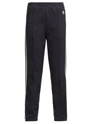 Moncler Taped Side Technical Track Pants Navy