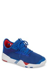 K Swiss Si 2018 Mid Top Sneaker Strong Blue White Red