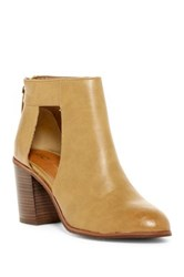 Bc Footwear Combust Cutout Bootie Beige