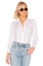 Frank And Eileen Limited Edition Button Down Blouse White