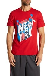 Adidas Short Sleeve Graphic Tee Red