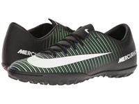 Nike Mercurial Victory Vi Tf Black White Electric Green Paramount Blue Men's Soccer Shoes