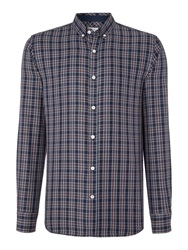 Selected Slim Jax Tap Check Shirt Toffee