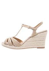 Pier One Wedge Sandals Beige