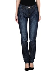 Philipp Plein Couture Denim Denim Trousers Women Blue