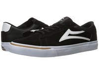 Lakai Ellis Black White Suede Men's Shoes
