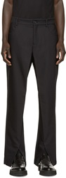 Hood By Air Black Sag Trousers