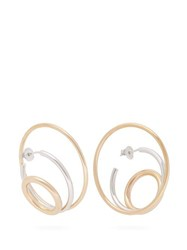 Charlotte Chesnais Ricoche Hoop Gold Vermeil Earrings Gold