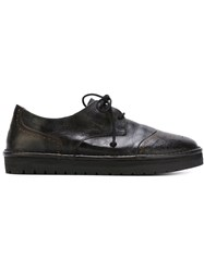 Marsell Marsell Rubber Sole Brogues Black