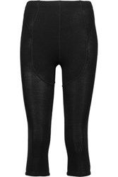 Rick Owens Wool Leggings Black