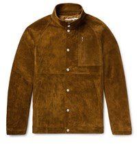 Nonnative Suede Coach Jacket Brown