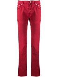 Jacob Cohen Classic Jeans Red