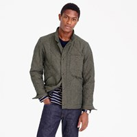 J.Crew Sussex Quilted Jacket In Cotton Twill