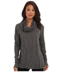 Free People Cocoon Cowl Pullover Charcoal Women's Long Sleeve Pullover Gray