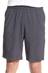 Mountain Hardwear Men's 'Refueler' Athletic Shorts Shark Titanium