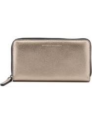 Brunello Cucinelli Continental Wallet Nude And Neutrals