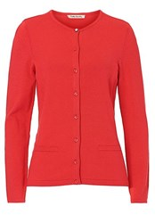 Betty Barclay Fine Knit Cardigan Red
