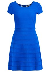 Morgan Ravila Jumper Dress Blue Electric Royal Blue