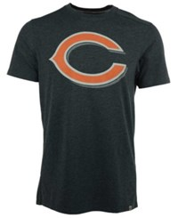 '47 Brand Men's Chicago Bears Forward High Point T Shirt Heather Navy