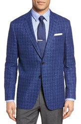 Todd Snyder Men's White Label Mayfair Trim Fit Check Linen And Cotton Sport Coat