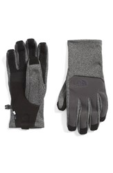 The North Face Men's 'Canyonwall' Etip Gloves Asphalt Grey