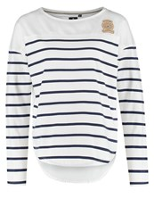 Gaastra Felucca Long Sleeved Top Indigo White