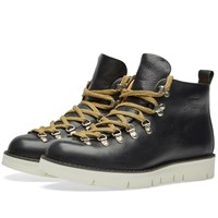 Fracap M120 Cut Vibram Sole Scarponcino Boot Black