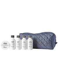 Baxter Of California Travel Kit And Dopp Bag Boxed Set Blue