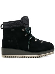 Ugg Australia Lace Up Ankle Boots Black