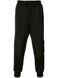 Y 3 Elasticated Cropped Trousers Black