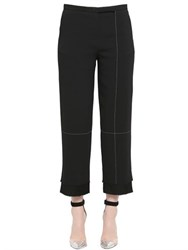 Edun Double Layer Cropped Pique Pants