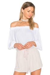 Sam And Lavi Cecile Top White