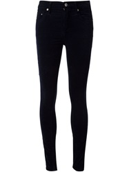 Citizens Of Humanity Velvet Skinny Trousers Black