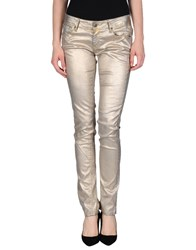 Cimarron Denim Denim Trousers Women Platinum