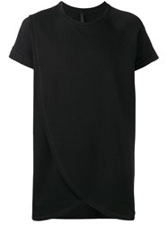 Barbara I Gongini Layered T Shirt Black