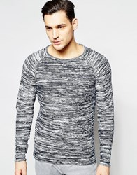 Jack And Jones Jack And Jones Crew Neck Knitted Sweater Navy