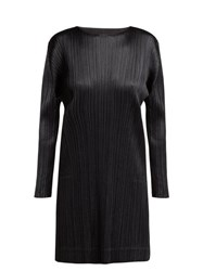 Pleats Please Issey Miyake Glaring Night Pleated Tunic Black