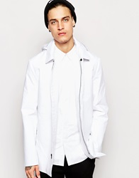 Standard Issue Exclusive Hooded Mac White