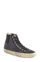Golden Goose Women's V Star 1 Glitter High Top Sneaker
