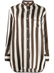 F.R.S For Restless Sleepers Striped Print Shirt 60