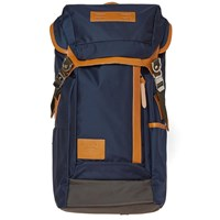 Master Piece Potential Leather Trim Backpack Blue