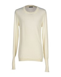 Bad Spirit Knitwear Jumpers Men Ivory