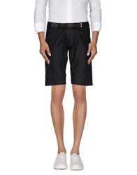 Daniele Alessandrini Trousers Bermuda Shorts Men Black