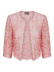 Jaeger Ombre Lace Jacket Pink